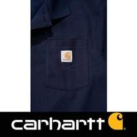 Contractor's Work Pocket Navy Polo Heren