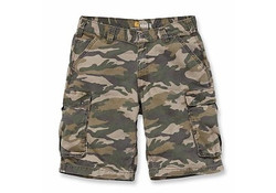Carhartt Rugged Cargo Khaki Camo Shorts Heren