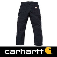 Ripstop Cargo Work Pant Black Broek Heren