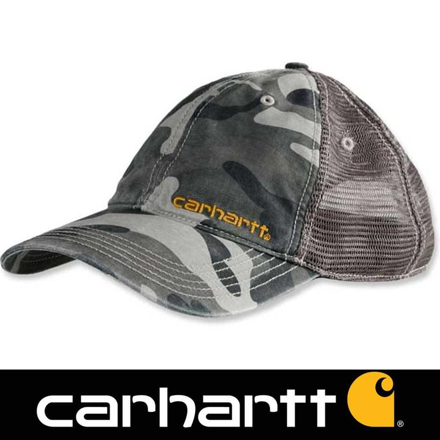 Brandt Rugged Gray Camo Cap