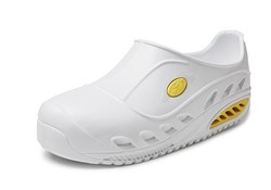 Sun Shoes AWP Safety Wit EVA Clogs Uniseks