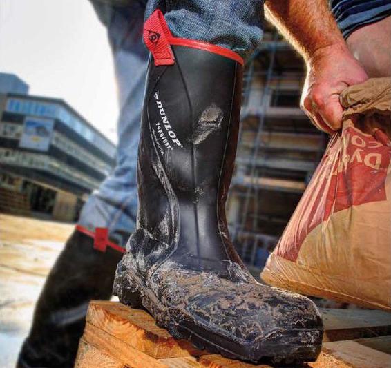 werklaarzen Dunlop Gevavi Safety Muck Boot