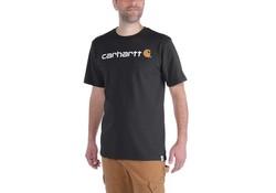 Carhartt EMEA Core Logo Zwart S-S T-Shirt Heren