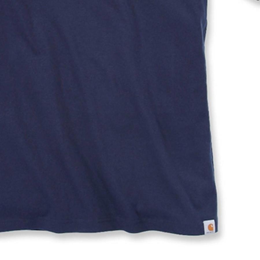 EMEA Core Logo Navy S-S T-Shirt Heren