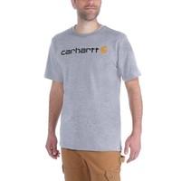 EMEA Core Logo Heather Grey S-S T-Shirt Heren