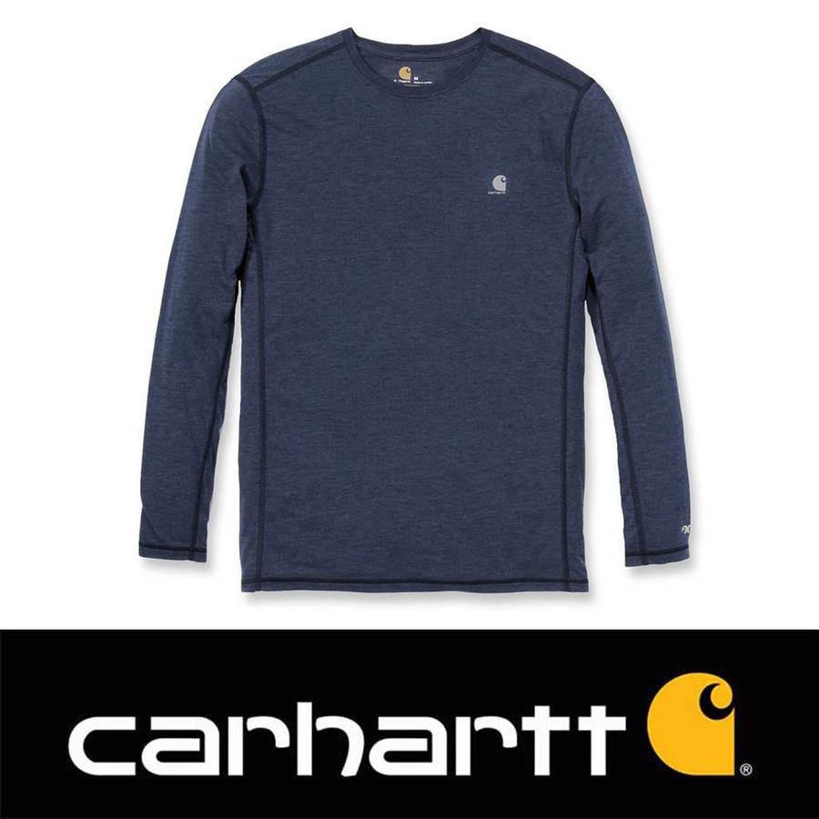 Force Extremes Long Sleeve Navy Heather Shirt Heren