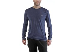 Carhartt Force Extremes Long Sleeve Navy Heather Shirt Heren