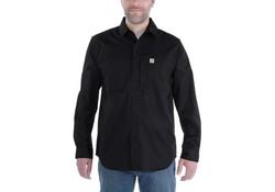 Carhartt Rugged Professional Long Sleeve Work Shirt Zwart Heren