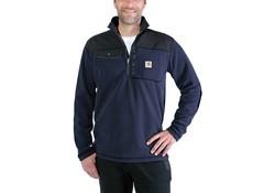 Carhartt Fallon Half-Zip Sweatshirt Navy Vest Heren