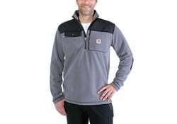 Carhartt Fallon Half-Zip Sweatshirt Charcoal Vest Heren