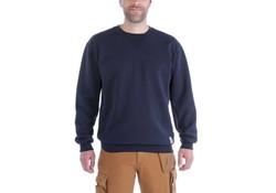 Carhartt Midweight Crewneck Sweatshirt New Navy Heren