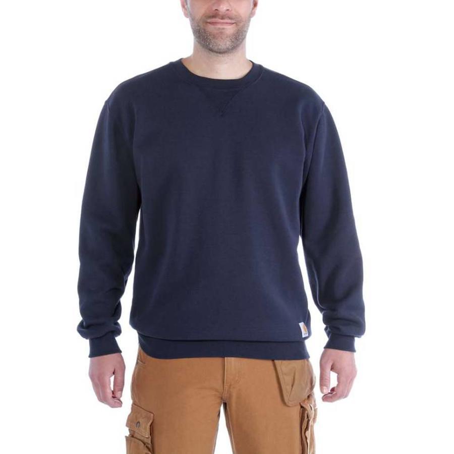 Midweight Crewneck Sweatshirt New Navy Heren