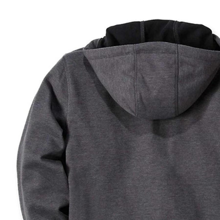 Wind Fighter Hooded Sweatshirt Carbon Heather Heren