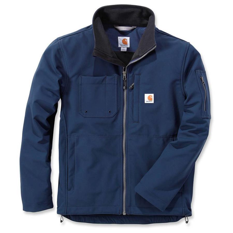 Rough Cut Jacket Navy Winterjas Heren