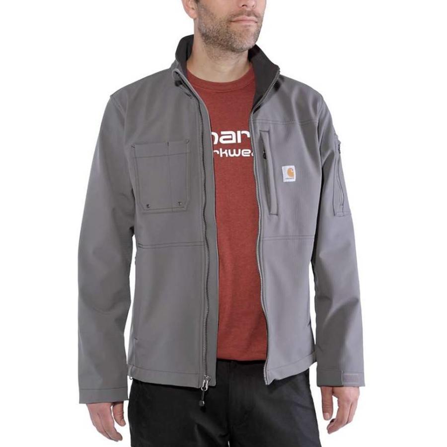 Rough Cut Jacket Charcoal Winterjas Heren