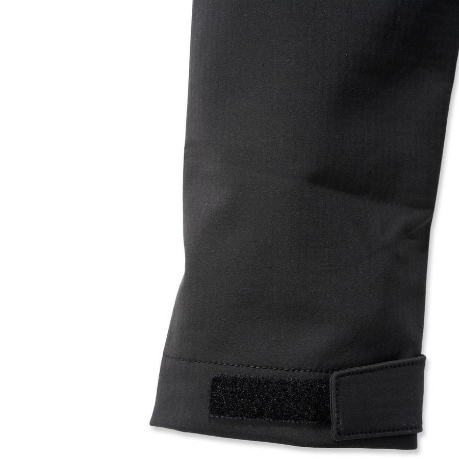Rough Cut Jacket Zwart Winterjas Heren