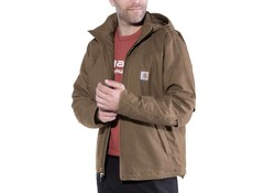 Carhartt Quick Duck Full Swing Cryder Jacket Canyon Brown Winterjas Heren