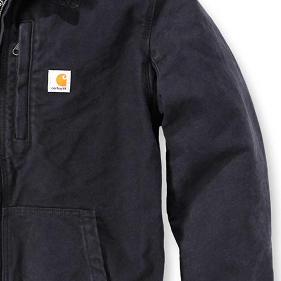 Full Swing Armstrong Jacket Zwart Winterjas Heren