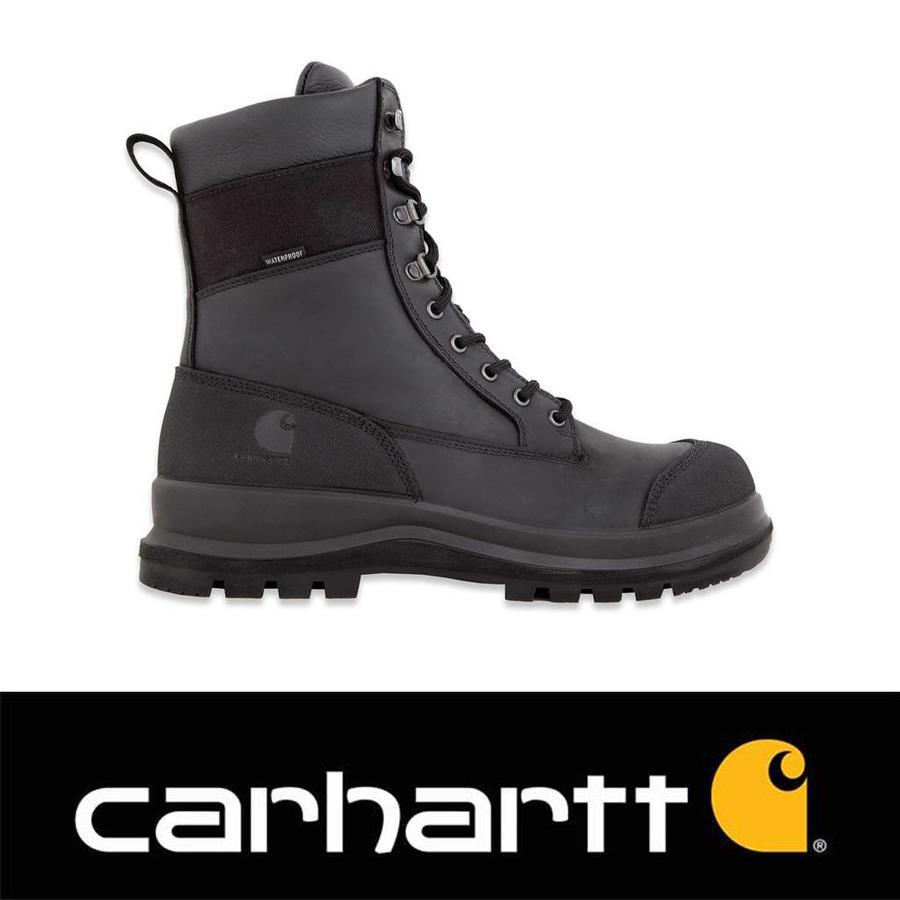 Detroit S3 High Zwart Werkschoenen Heren
