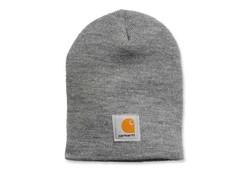 Carhartt Acrylic Knit Hat Heather Grey Muts Uniseks