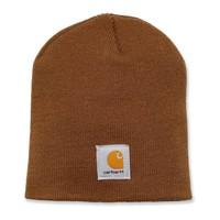 Acrylic Knit Hat Bruin Muts Uniseks