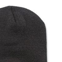 Acrylic Knit Hat Zwart Muts Uniseks