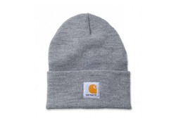Carhartt Watch Hat Heather Grey Muts Uniseks