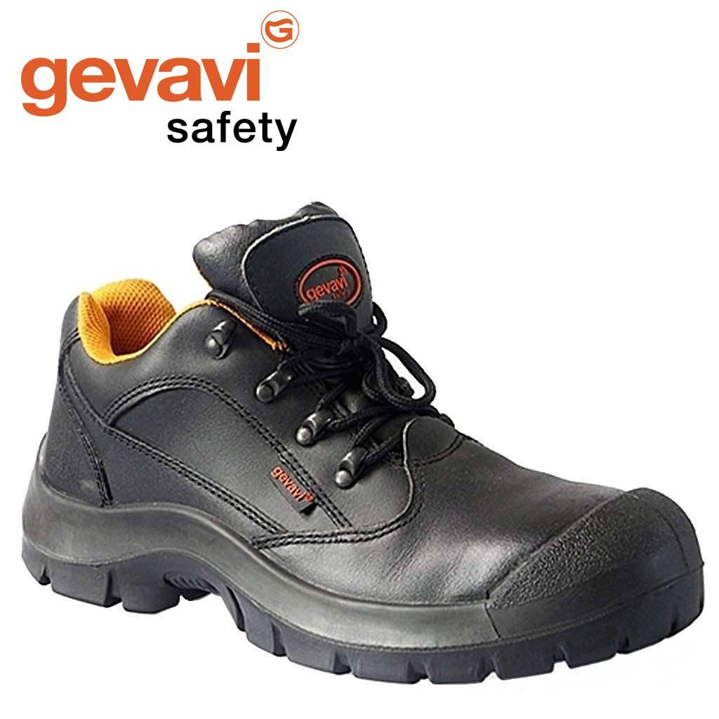 Werkschoenen Gevavi.Gevavi Safety Gs41 Zwart Lage Veiligheidsschoenen S3 Heren