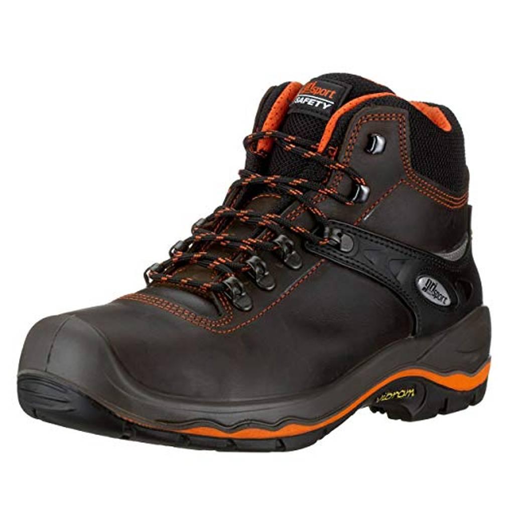 S4 Werkschoenen.Grisport Safety 72003l S3 Zwart Werkschoenen Uniseks