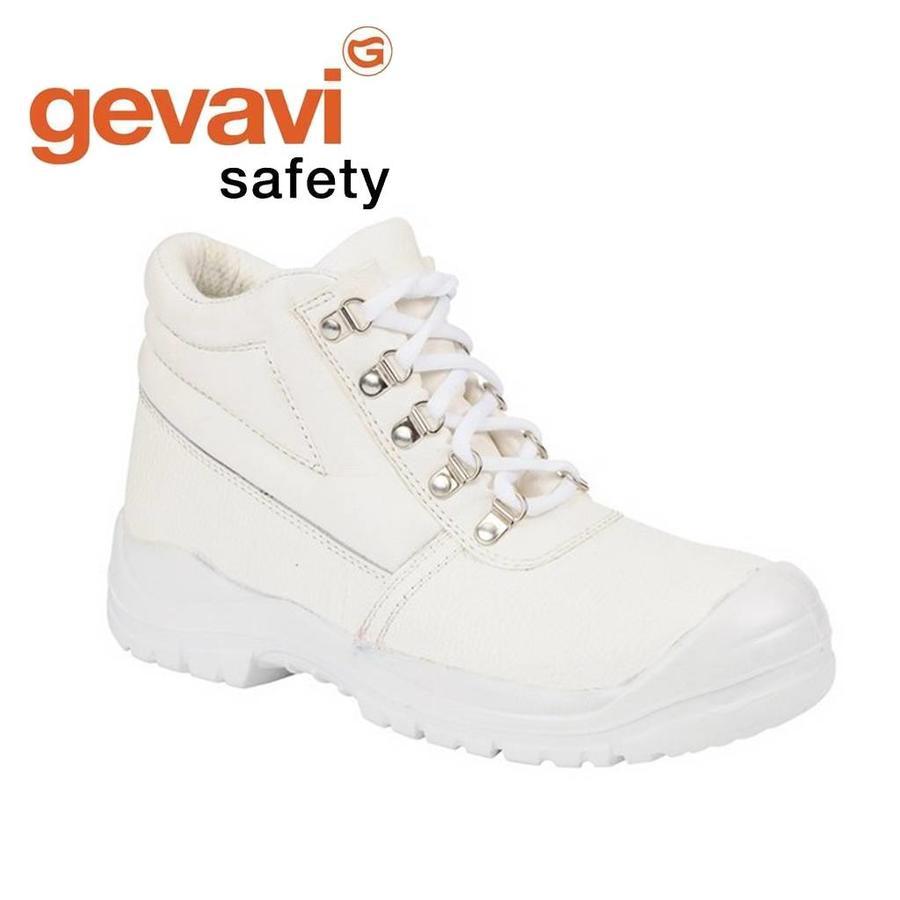 GS02 Wit Hoge Veiligheidsschoenen S3 Heren