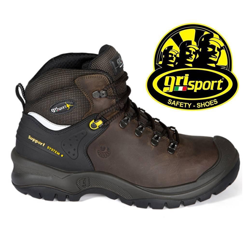 Werkschoenen Slagerij.Grisport Safety 773 L S3 Bruin Werkschoenen Heren