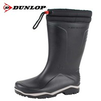 K400061 Blizzard Zwart Gevoerde Laarzen PVC Uniseks