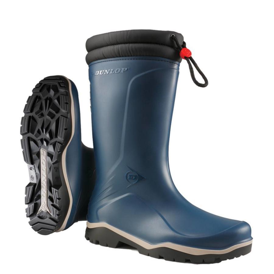 K454061 Blizzard Blauw Gevoerde Laarzen PVC Uniseks