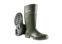 Dunlop W486711 Groen Hobby Knielaarzen PVC Heren