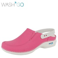 Wash & Go Clog Open Fuchsia Klompen Uniseks