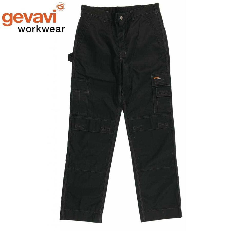 GW01 Zwart Werkbroek Heren