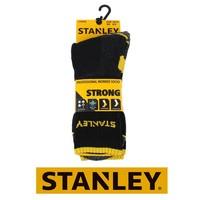 ST01 Strong Zwart 2 Paar/Bundel Sokken