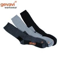 GW83 Grijs 3 Paar/Bundel Thermosokken
