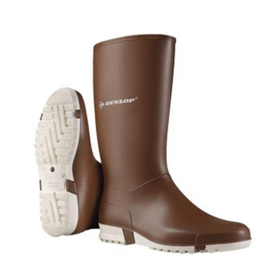 grote verkoop online winkel tijdloos design Dunlop K265111 PVC Bruin Sportieve Laarzen Dames
