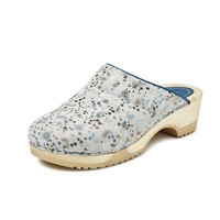 3630 Clog Space Blauw Klompen Dames