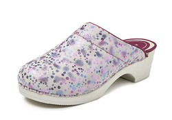 BigHorn 5030 Clog Buigzame Zool Space Licht Roze Klompen Dames