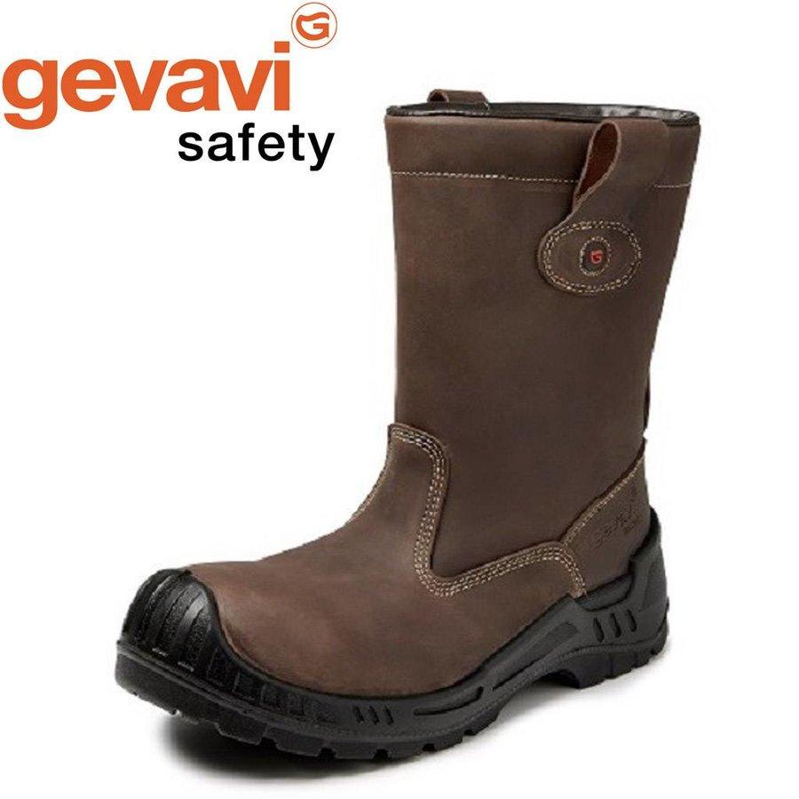 GS91 Bari S3 Bruin Gevoerde Veiligheidslaarzen