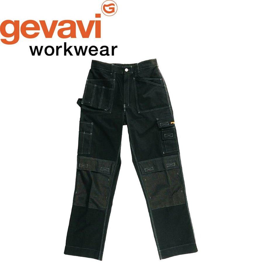 GW02 Zwart Werkbroek Heren
