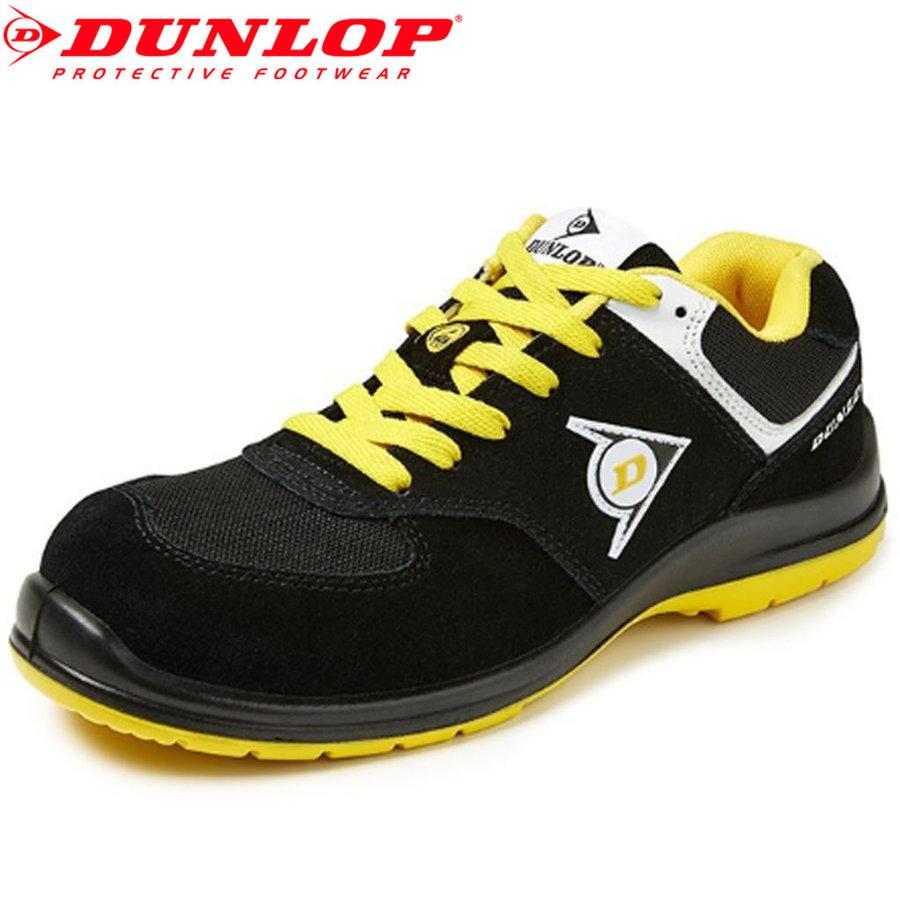 Flying Sword S3 Zwart Geel Lage Veiligheidssneakers Heren