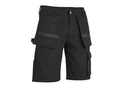 4Work  Murcia Multipocket Zwart Werkshort Heren