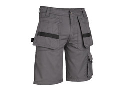 4Work  Murcia Multipocket Grijs Werkshort Heren