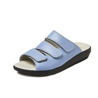 3201 Turquoise Slippers Dames