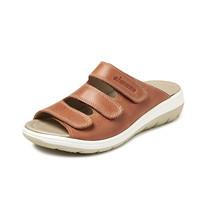 4201 Bruin Gezondheids Slippers Dames