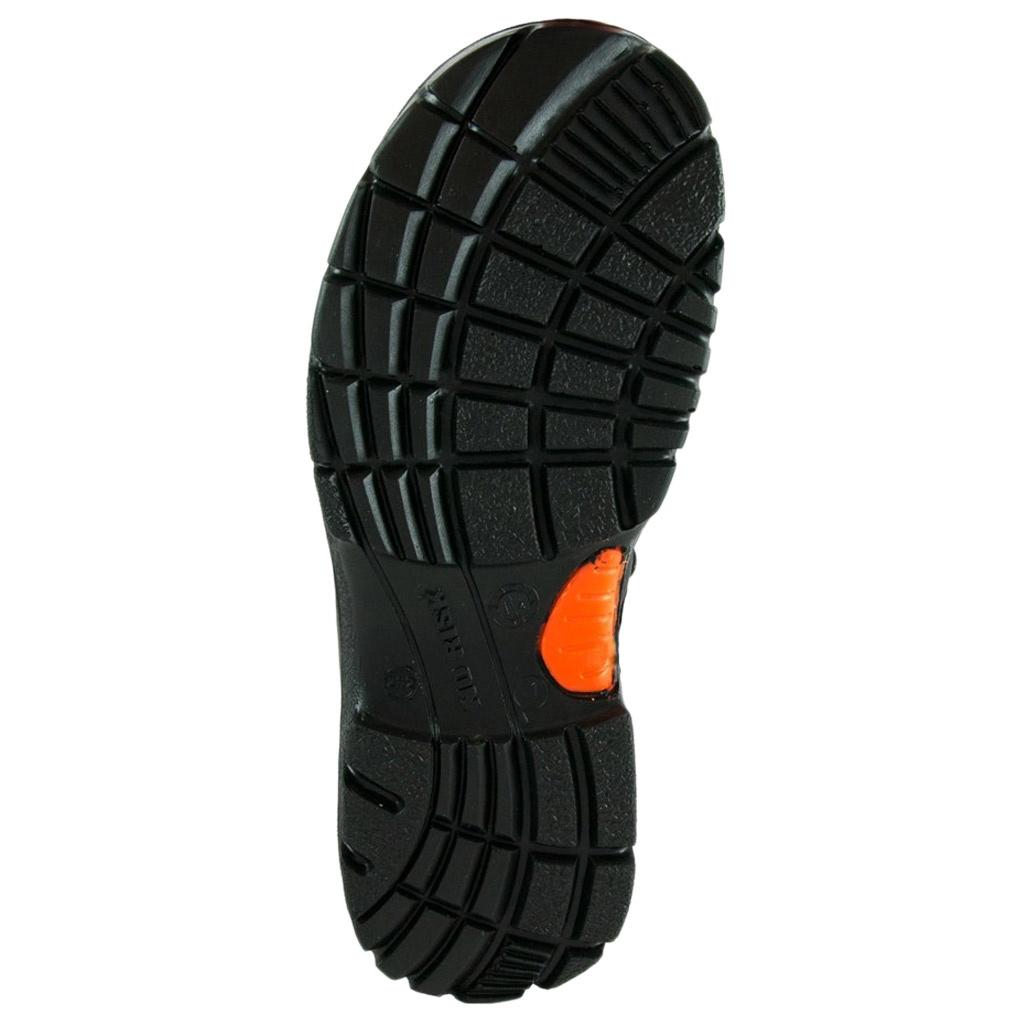 No Risk Blackrock Hoog S3 Zwart Werkschoenen Heren
