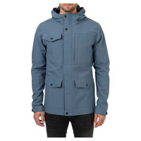 Urban Outdoor Regenjas Dusty Blue Heren